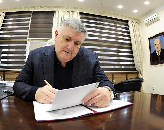 Зайдин Джамбулатов – вице-президент ФК «Анжи»
