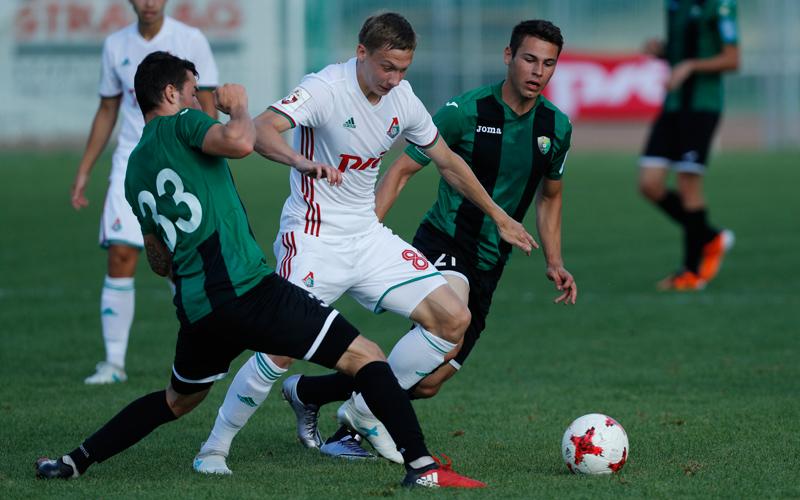 «Локомотив» провел контрольный матч против «Рудара»