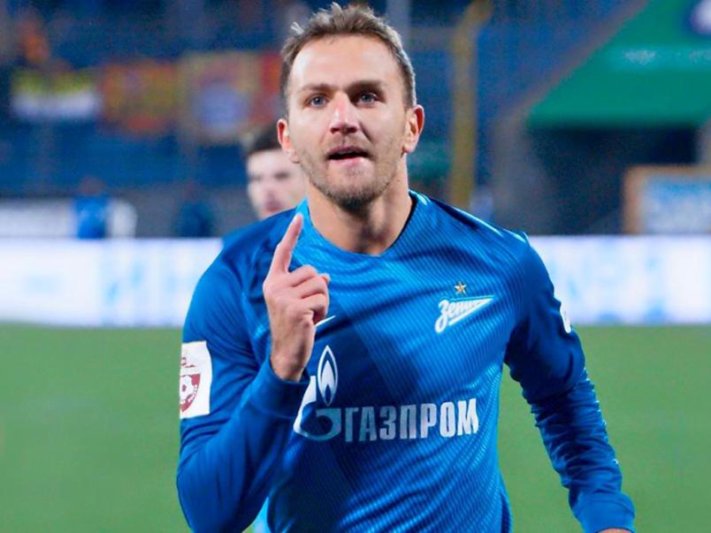Доменико Кришито стал самым результативным защитником в истории «Зенита»