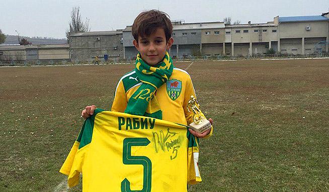 Игорь Армаш провел турнир среди юных футболистов