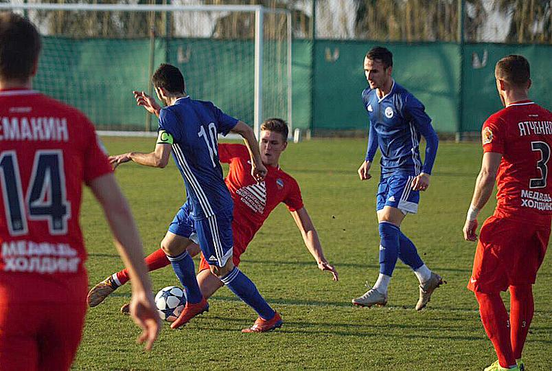 «Енисей» сыграл вничью с батумским «Динамо»