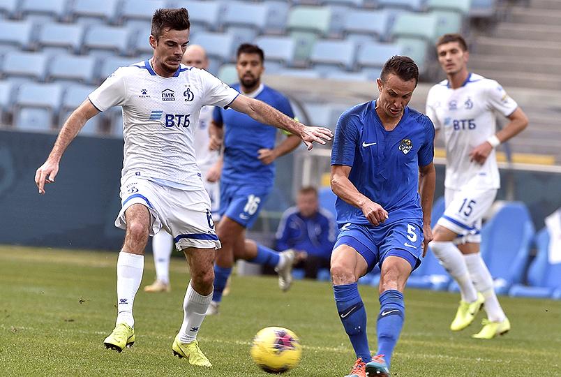 «Сочи» и «Динамо» завершили контрольный матч вничью