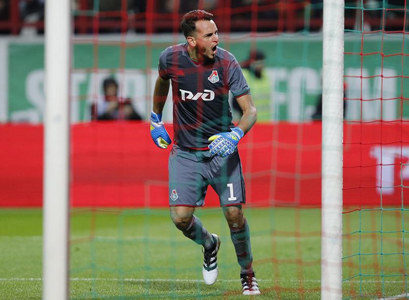 Гилерме провел 200-й матч за «Локомотив»