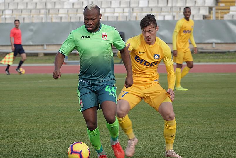«Уфа» сыграла вничью с «Левски»