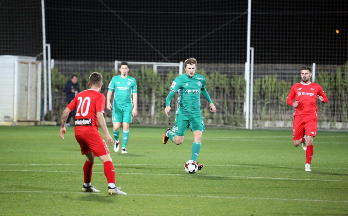 «Терек»  уступил «Лехии» в товарищеском матче