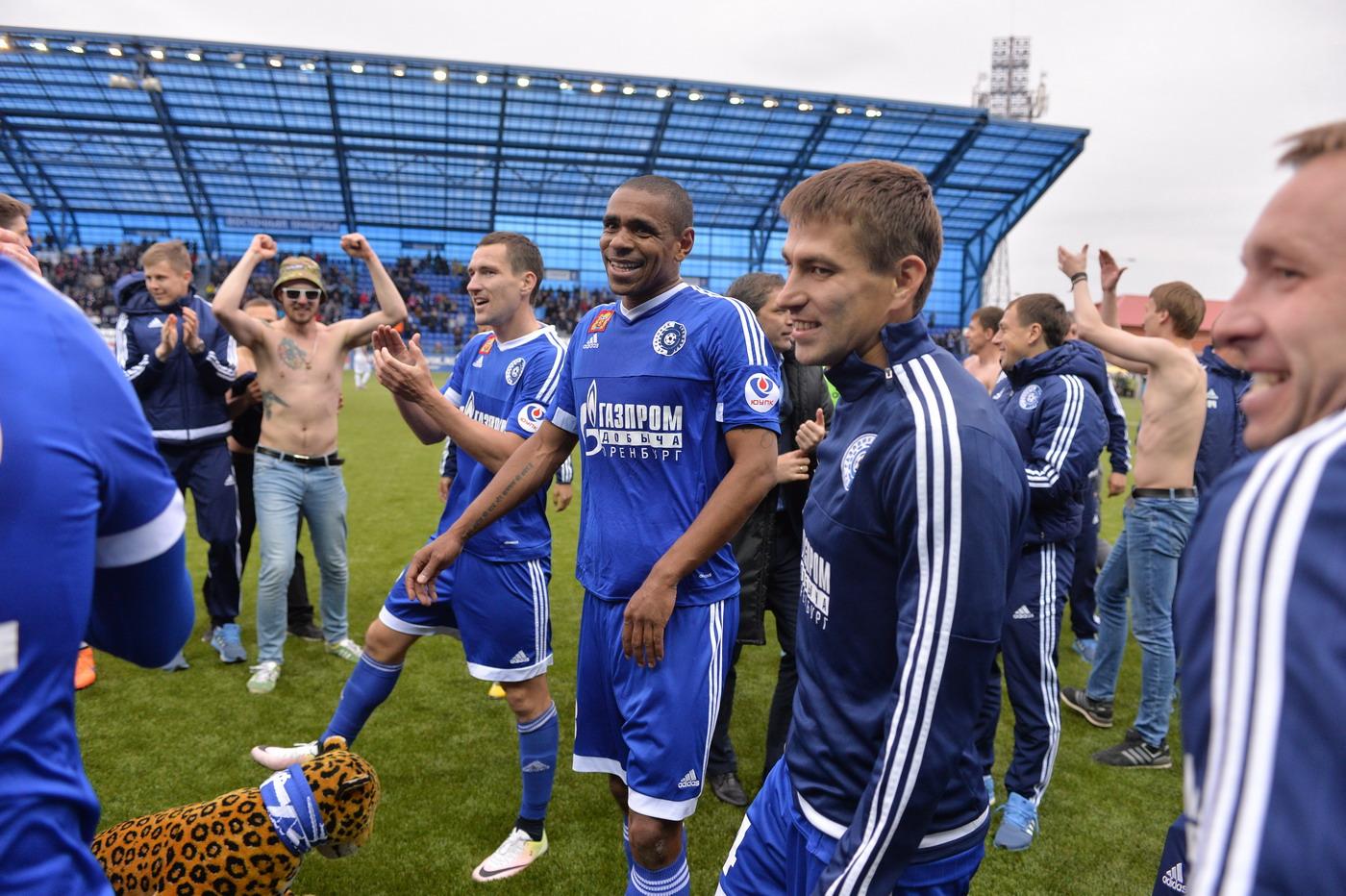 Игроки «Оренбурга» соберется 15 июня