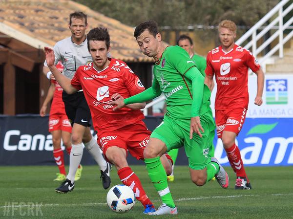 Матч с ФК «Бранн» завершился без забитых мячей