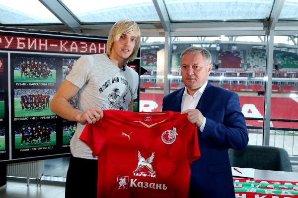 Андрей Пилявский:  «Переход в «Рубин» – шаг вперед для меня»