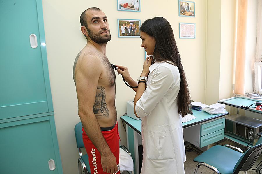 Игроки «Спартака» прошли медобследование