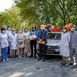 Эрик Бикфалви подарил автомобиль врачам Городской больницы №3 в Екатеринбурге