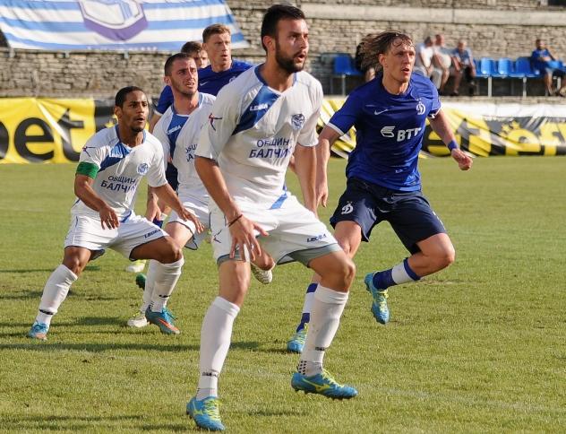 «Динамо» одержал победу в первом контрольном матче