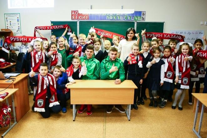 Игорь Коновалов и Игорь Калинин провели урок в 101-й школе