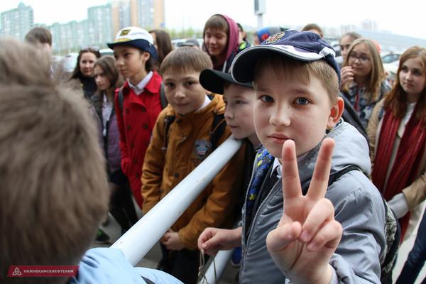 Учащиеся гимназии №6 побывали на «Казань Арене»