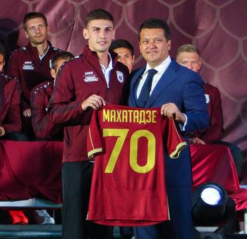 Георгий Махатадзе – игрок «Рубина»