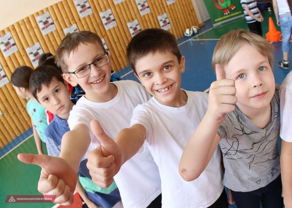 «Самый футбольный класс»: «Рубин» провел мастер-класс в гимназии №19