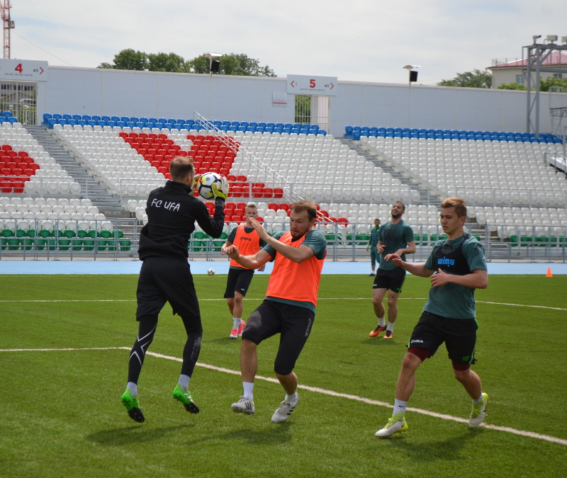 ФК «Уфа» отправился в Новогорск