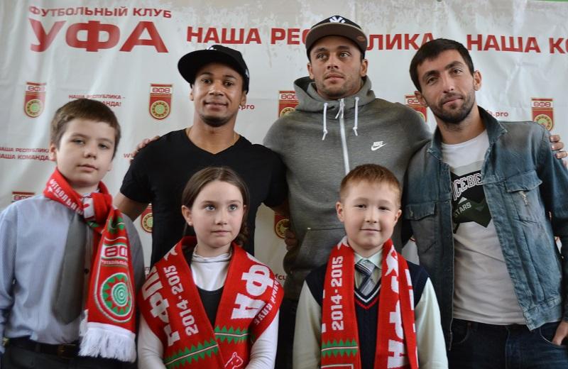 ФК «Уфа» посетил 107-й лицей