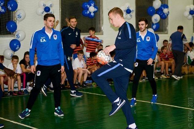 «День «Динамо» и ВТБ» в школе №2097