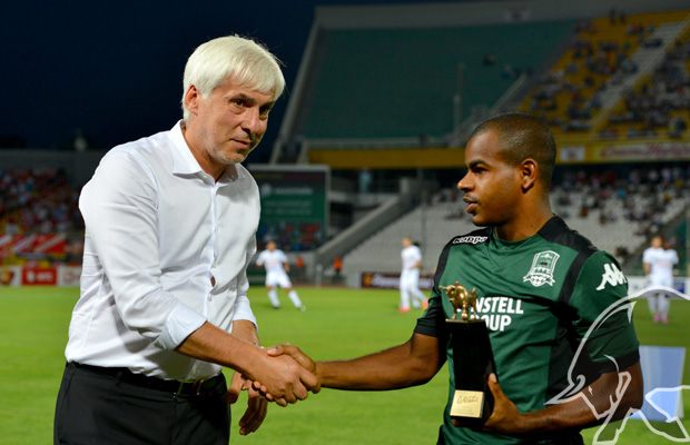 Жоаозиньо получил приз «Лучшему игроку ФК «Краснодар» в сезоне-2013/2014»