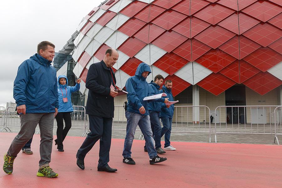 Инспекция ФИФА посетила «Открытие Арену»