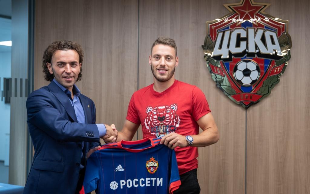 ПФК ЦСКА арендовал Николу Влашича