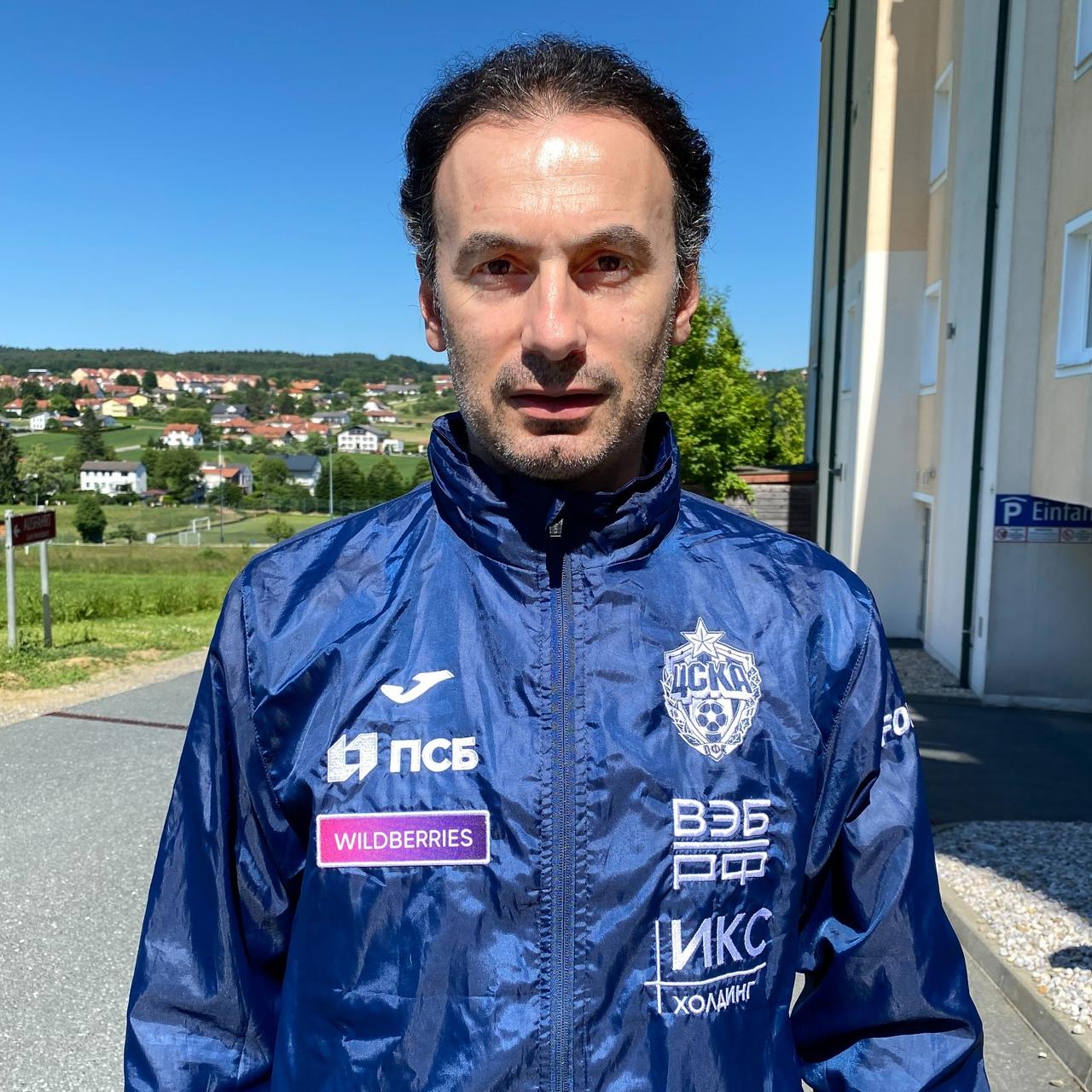 Григорий Бабаян стал помощником Алексея Березуцкого в ЦСКА