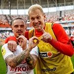 «Спартак» продлил контракты с Андреем Ещенко и Артёмом Ребровым