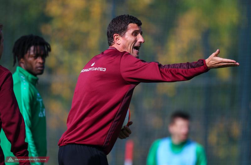 Хавьер Грасия:  «Краснодар» - очень сильная команда с хорошим подбором исполнителей»