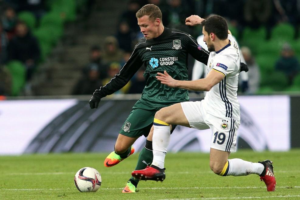 «Краснодар» обыграл «Фенербахче» в плей-офф Лиги Европы