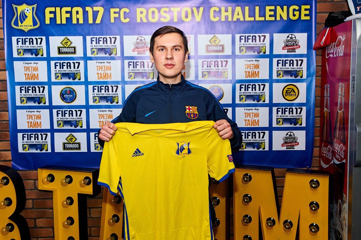 Алексей Олейник будет представлять «Ростов» в турнирах по киберфутболу