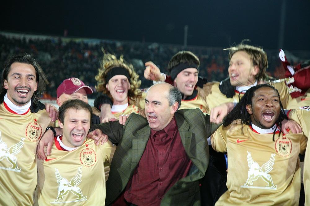10 лет первому чемпионству «Рубина»