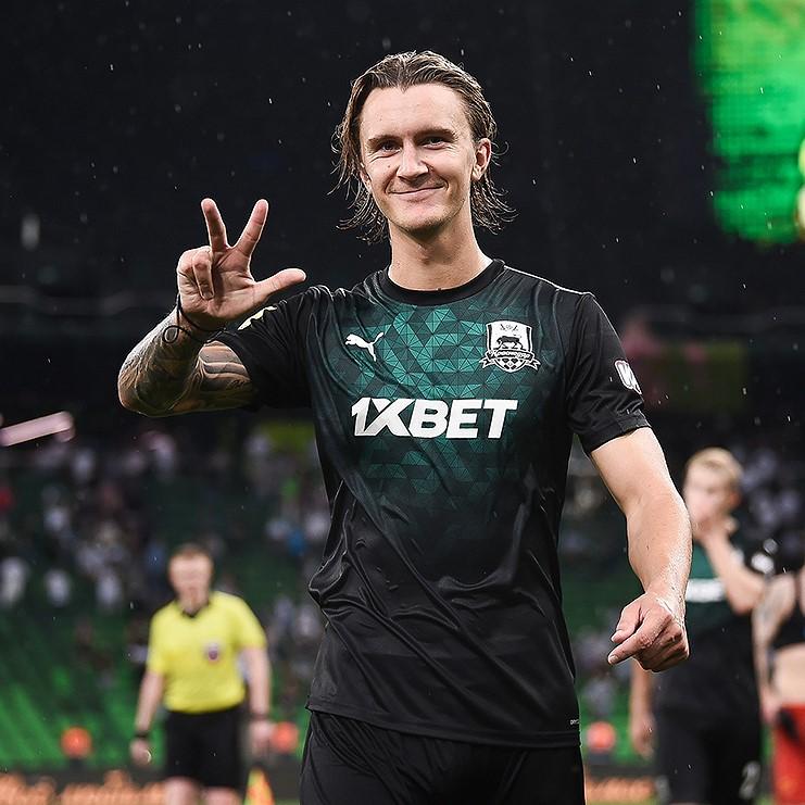 Кристоффер Олссон перешёл из «Краснодара» в «Андерлехт»