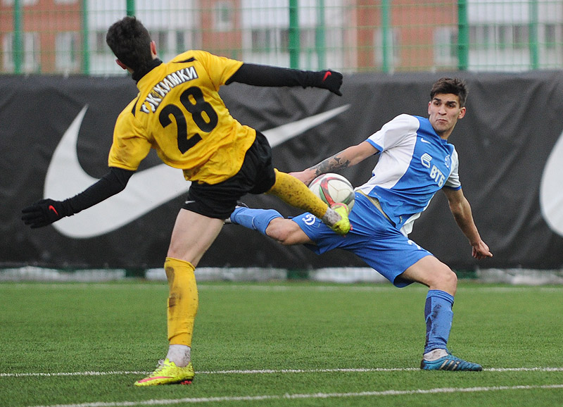 Молодежка «Динамо» провела два контрольных матча