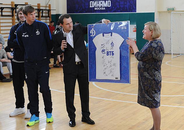 День «Динамо» и ВТБ в школе № 236