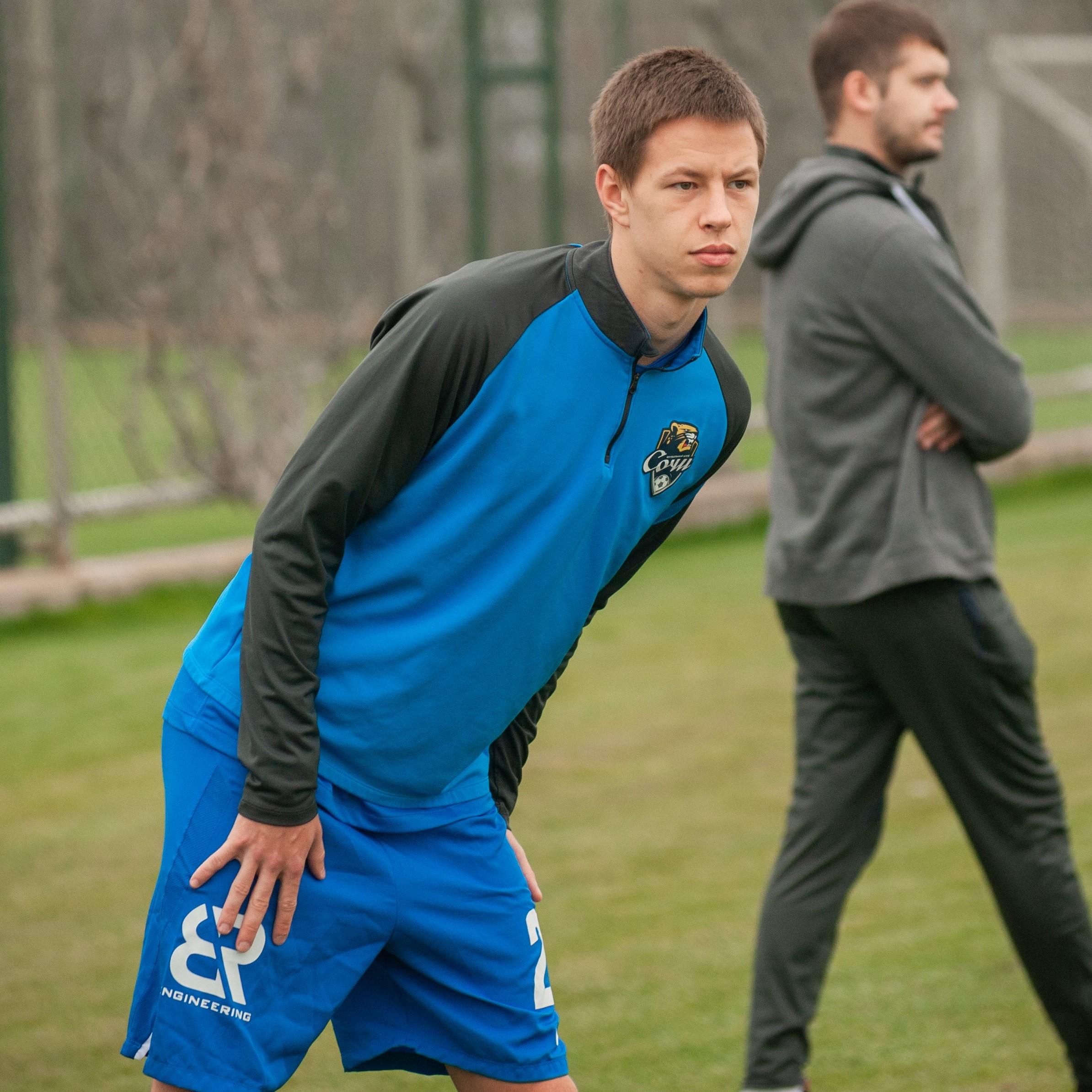«Сочи» арендовал Данилу Прохина до конца сезона 2021/22