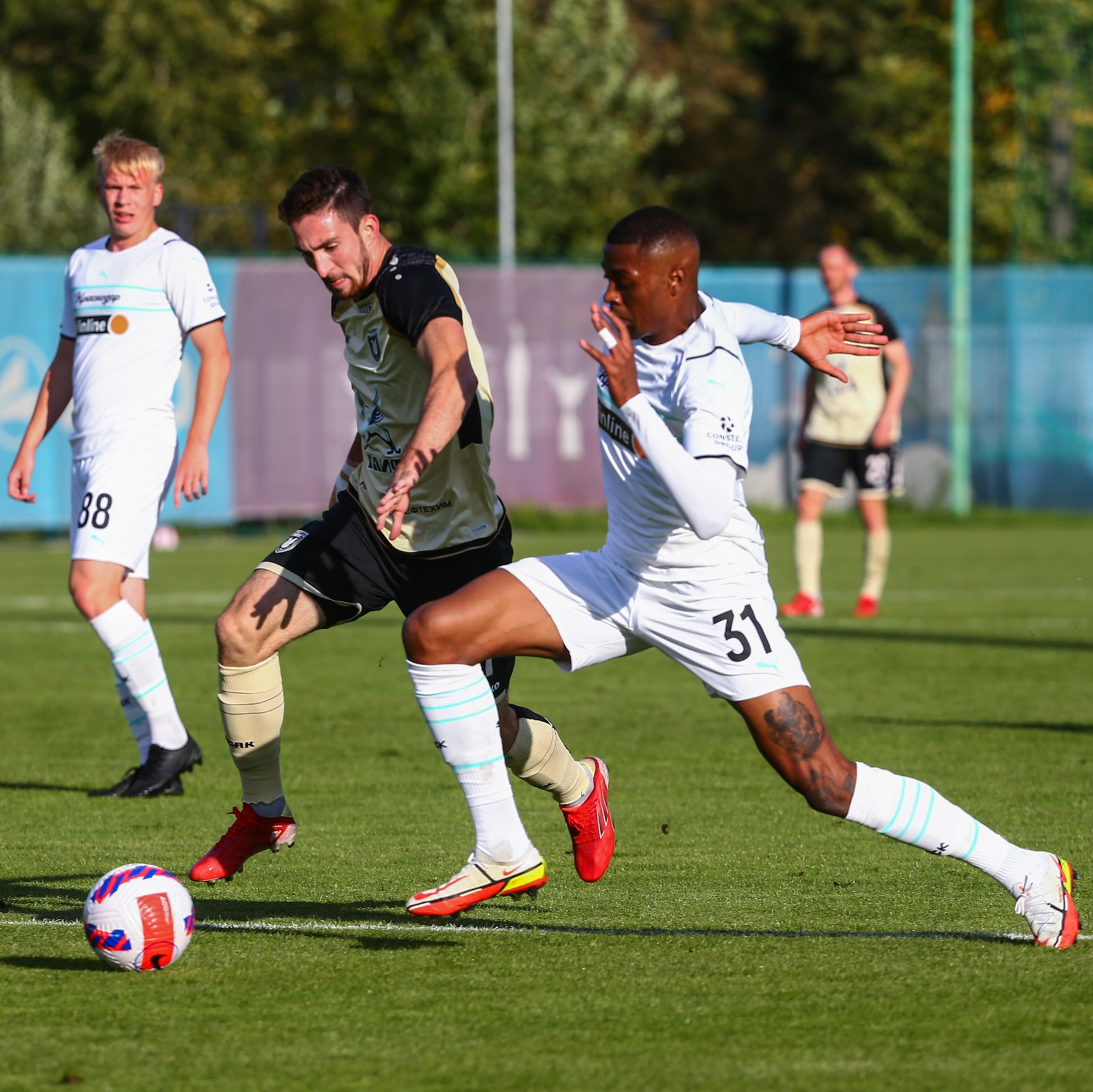 Дубль Ильина помог «Краснодару» обыграть «Рубин» в товарищеском матче