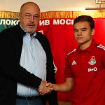 Дмитрий Рыбчинский продлил контракт с «Локомотивом» на четыре года
