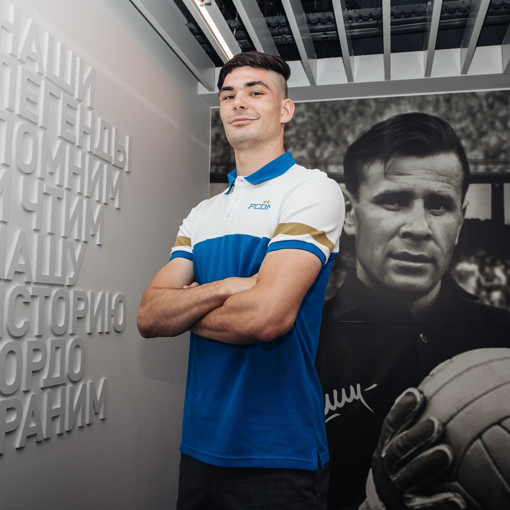 «Динамо» объявило о заключении контракта с Сабой Сазоновым