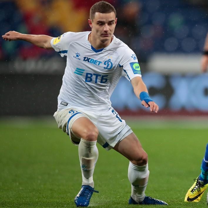Защитник «Динамо» Сергей Слепов перешёл в «Ротор» на правах аренды