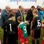 «Локомотив» открыл новый футбольный манеж