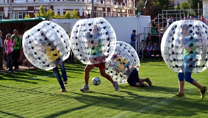 «Амкар» проведет матч по бамперболу