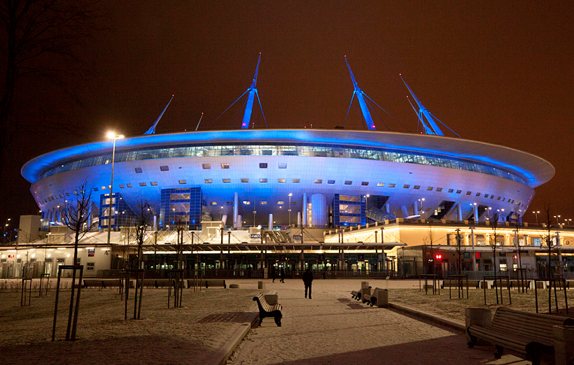 Стадион «Санкт-Петербург» претендует на звание лучшей спортивной арены 2017 года