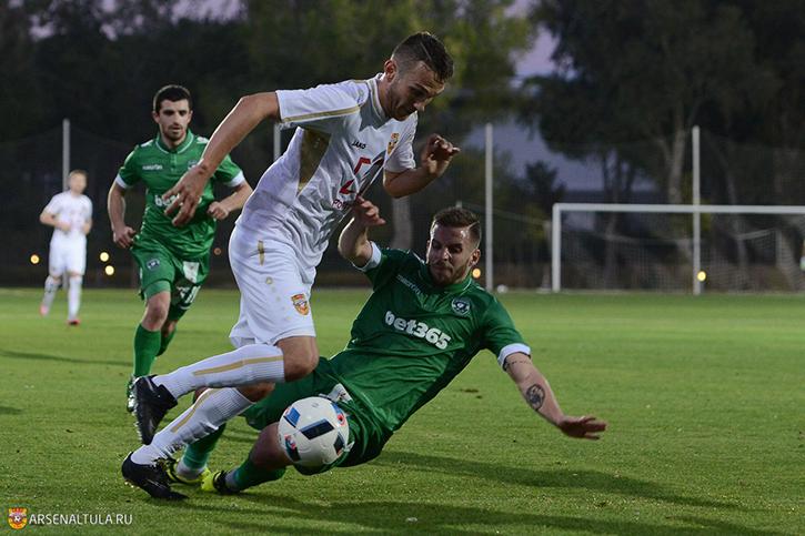 «Арсенал» сыграл вничью с «Лудогорцем»