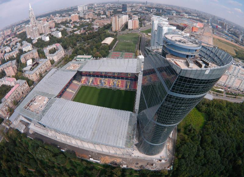 Арена ЦСКА введена в эксплуатацию