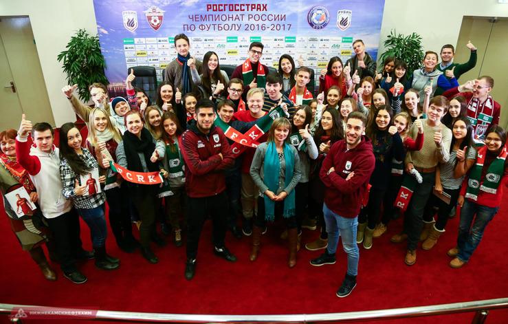 «Казань Арену» посетил 10-й «В» класс