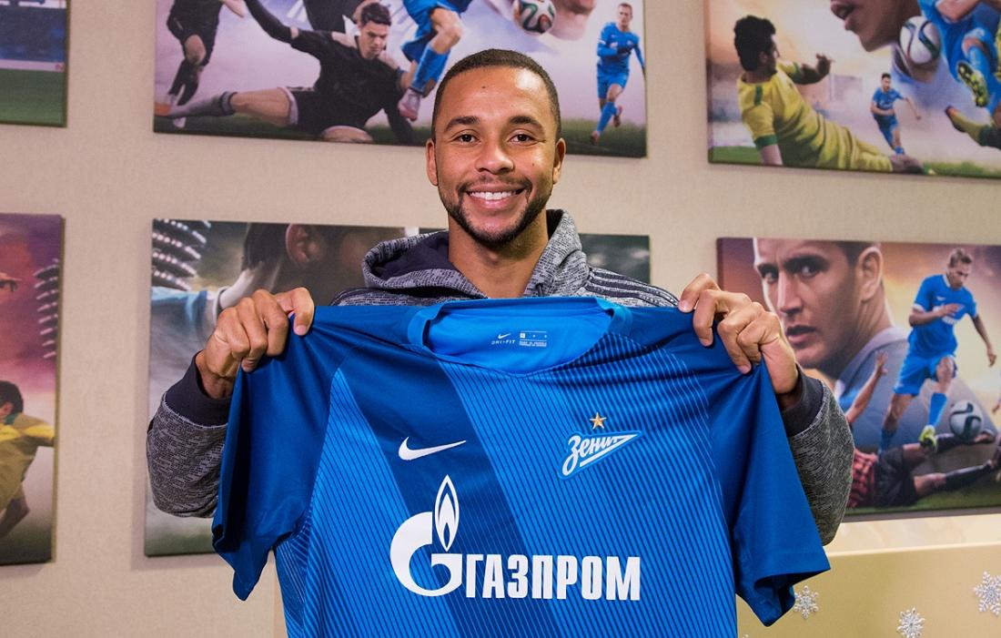 Эрнани присоединился к «Зениту»