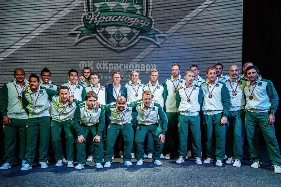 «Краснодар» получил первые в истории клуба награды Чемпионата России