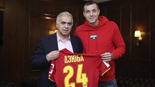 Артем Дзюба – в «Арсенале»