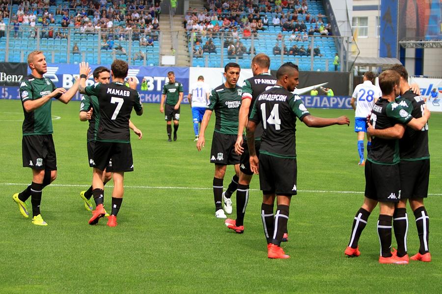 Футболисты и тренеры «Краснодара» ушли в отпуск