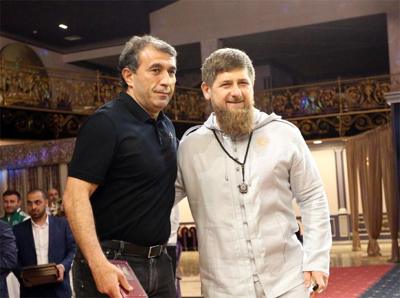 Рамзан Кадыров пригласил команду на торжественный ужин